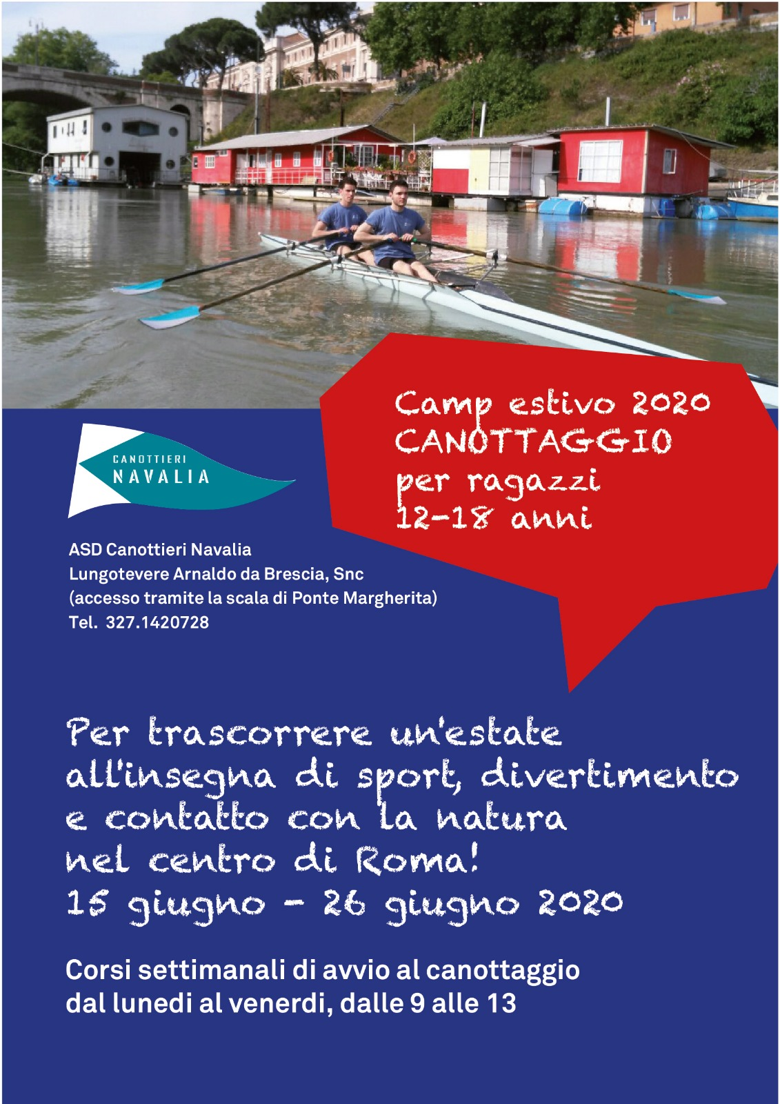 Canottaggio a Roma